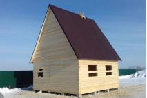 Дом из бруса №9