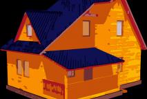 Дом из бруса №21